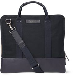 HEATHROW COTTON CANVASS MESSENGER BAG - WANT LES ESSENTIELS DE LA VIE