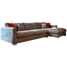 Fontella - Large Chaise (Right Hand) | Corner Sofas | Living Room