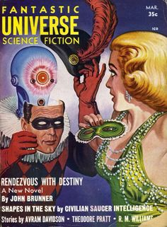 Fantastic Universe - Philip K Dick or Dr Who Clockwork Robot