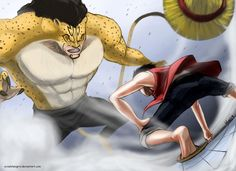 One of the Greatest Battles in Anime History.