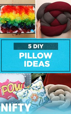 5 DIY Pillow Ideas