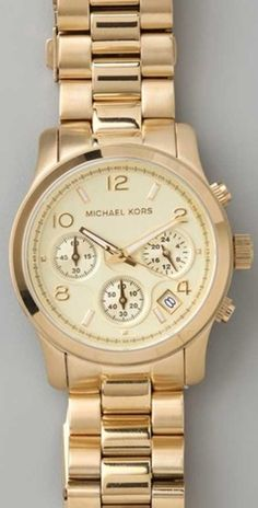 michael kors watches outlet online 9br8  Mine is obviously much cheaper but you get the idea Michael Kors gold watch