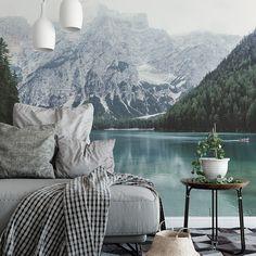 Scandinavian lake • Scandinavian - Bedroom - Nature - Wall Murals • Pixers® • We live to change