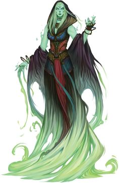Azlanti Spirit by Vavilov Konstantin for the Occult Realms Pathfinder Campaign Setting