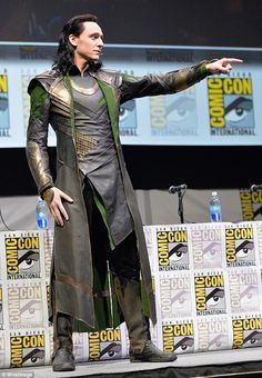 The British actor revealed he has fond memories of Comic-Con where he first made an appearance alongside his Thor director Kenneth Branagh in 2010 and where he delighted fans in 2013 by arriving in character as Loki