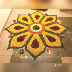Happy Diwali 2018 Beautiful Flower rangoli designs, Happy Diwali Images Wishes for Sms, Status, Jokes, Greetings Easy Rangoli Designs Diwali, Rangoli Simple, Simple Rangoli Designs Images, Rangoli Designs Flower, Free Hand Rangoli Design, Rangoli Border Designs, Small Rangoli Design, Rangoli Patterns, Colorful Rangoli Designs