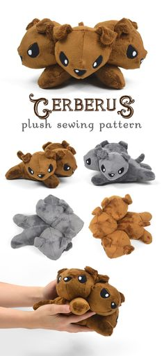 New Shop Pattern! Cerberus Plush | Choly Knight