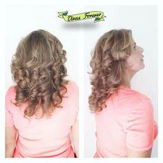 INVITADOS Super #iluminado le quedo el cabello a Gisella con los visos y ondas que nuestra @dai_chaucherita  le hizo