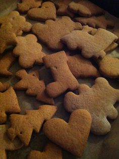 Home made Gingerbreads.