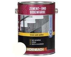 Zement- und Bodenfarbe weiß 750 ml