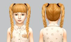 SimLaughLove Playful Braids recolored in 24 Crayolas Naturals.Each recolor comes with custom catalog thumbnail in order to make it easier to find. You need the meshes for my recolors to...