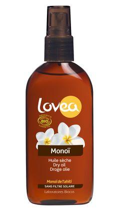 De niet-vette olie trekt gemakkelijk in de huid en zorgt voor een intensieve bruining en verzorging van de huid tijdens het zonnebaden. De toegevoegde natuurlijke Tahitiaanse Monoï- olie verzacht de huid, houdt haar soepel en veerkrachtig en beschermt tegen externe invloeden, zoals het gecombineerde effect op de huid van zout, zon en wind. De olie kan gebruikt worden tijdens maar ook na het zonnen. Het kan zelfs in je haar gebruikt worden.