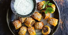 From the second the aromatic Indian spices hit the pan you'll be counting down the minutes until these tasty pastry bites are baked and ready to eat. These mini rolls are just as happy being passed around at a party as they are in a school lunch box.