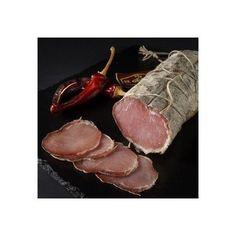 La tienda online de productos gourmet y delicatessen 'Érase un gourmet' vende embutidos de calidad como este lomo de cerdo sazonado y curado lentamente. Igual que se hace con la cabeza de lomo.