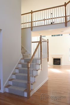 This 2-story foyer in the Country Manor model certainly makes and entrance!