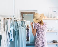 We have a lot of love for hyper-local designers like Lily Ashwell, whose modern-meets-vintage aesthetic offers all the capsule wardrobe inspiration we need...