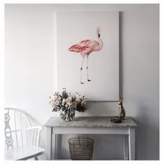 Our favourite friend 'Frank the Flamingo' by @ericasmithdesign | available online and in store #pennyfarthingdh