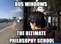 School Bus , Windows, School .......Thoughts!