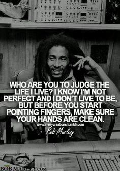 Bob Marley Quotes from his music and songs about love and life. These quotes by Bob Marley will uplift your mind and spirit! Wise Quotes, Quotable Quotes, Great Quotes, Words Quotes, Quotes To Live By, Inspirational Quotes, Sayings, Music Quotes, Vain Quotes