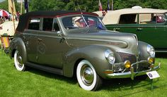 1940 Mercury convertible sedan