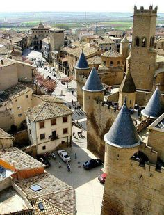 Olite. Navarra. Spain.