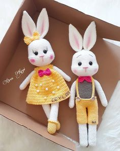 Crochet Patterns Amigurumi, Amigurumi Doll, Crochet Dolls, Crochet Yarn, Knitted Bunnies, Little Cotton Rabbits, Crochet Rabbit, Newborn Toys, Stuffed Toys Patterns