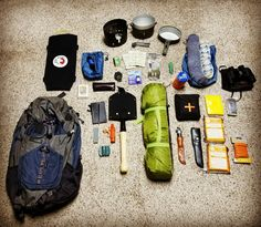 The Bug Out Bag is different from a Get Home Bag. It has a more long term, more durable, and reusable shelter. It also has a more tools for living off the grid. Also has Skivvy roll and several ways of getting clean water. This is the bag only; check additional pins on this board for weapons and tools.