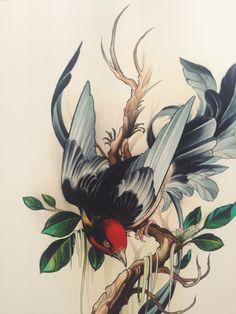 Wendy Pham Bird Print