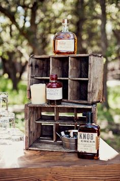Whiskey bar at my future wedding for sure.