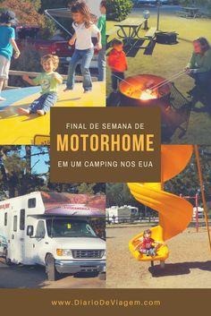 Final de semana de motorhome nos EUA Motorhome, Rio Grande Do Sul, Camping, Poster, Travel, Blog, Train Trip, Domestic Destinations, National Parks