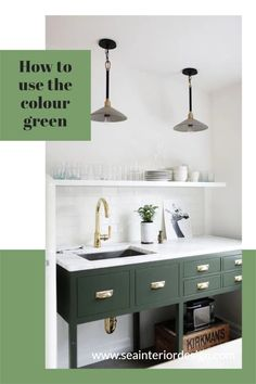 Why use green? Might you ask, well I am a great believer in bringing the outside in and extending the living space to the outside? Besides, here are just a few notes on the psychology of Green based on a publication by empower-yourself-with color found online. Interior Design Inspiration, Psychology, Living Spaces, Kitchens, Notes, Sea, House Styles, Green, Blog