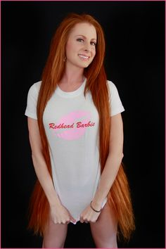 9edf9cc067 Redheads - my my that is some long red hair - a redhead for me!