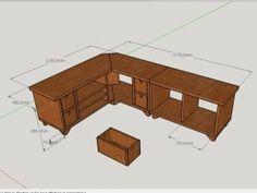 meuble tv dangle - Idee Meuble Tv Angle