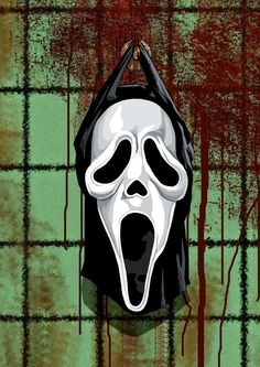 Ghostface character FROM the movie scream. Scary Movies, Horror Movies, Ghostface Scream, Evil Dead, Scream Movie, Horror Artwork, Ghost Faces, Horror Icons, Arte Horror