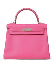 ea481ffe49e8 Who wouldn t want a pink Hermès Kelly bag named after Grace Kelly.