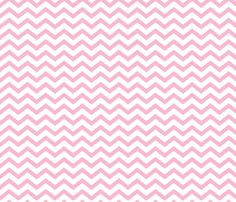 chevron light pink and white fabric by misstiina on Spoonflower - custom fabric