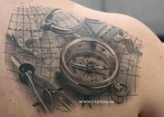 I like maps and compass
