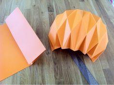 Paper lanter/ papir lampeskærm/ papira lampa