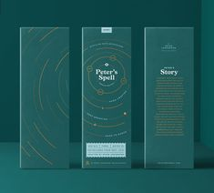 Peter's Spell Whiskey Packaging. Packaging project made during my time at Shillington School of Graphic Design in New York. One of my favorite projects I've done. Design Social, Web Design, Design Blog, Label Design, Branding Design, Graphic Design, Package Design, Print Design, Packaging World
