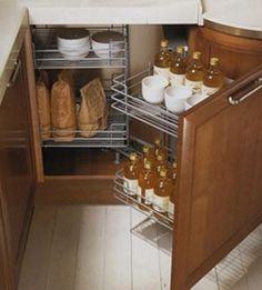 """Кухонный механизм """"паровозик"""" для углового шкафа"""