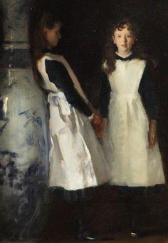 """Las hijas de Edward Darley Boit ""de John singer Sargent"