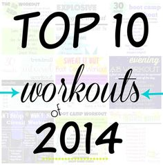 Most Popular Workouts of 2014