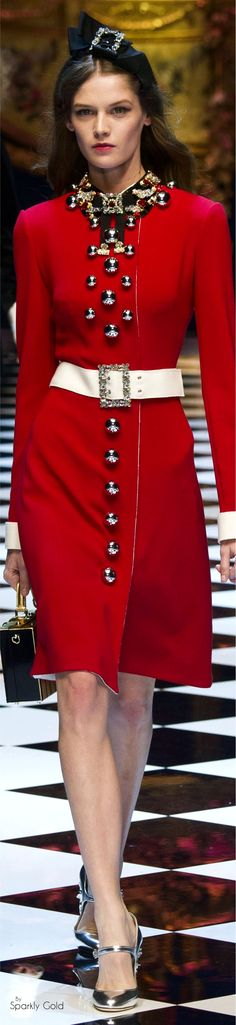Dolce & Gabbana Fall 2016 RTW ♕BOUTIQUE CHIC♕