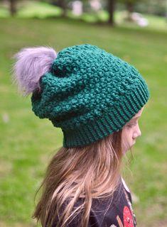Ravelry: Brooklyn Slouch pattern by Crochet by Jennifer Crochet Hook Sizes, Crochet Hooks, Hat Crochet, Pom Pom Maker, Photo Tutorial, Yarn Needle, Stitch Markers, Crochet Accessories, Slip Stitch