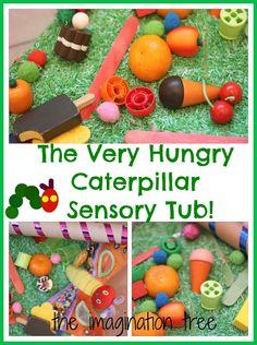 The Very Hungry Caterpillar Sensory Storytelling Tub - The Imagination Tree