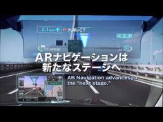 Pioneer introduces the new CYBER NAVI Car Navigation system in Japan with the world's first Head-Up Display to project augmented reality information in front. Futuristic Technology, Science And Technology, Holographic Displays, Machine Vision, Car Ui, Holography, March For Science, The Next Big Thing, Future Trends