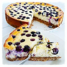 gezonde blueberrie cheesecake