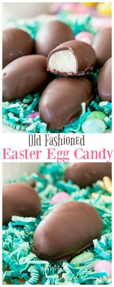 Old Fashioned Easter Egg Candy recipes dessert re. Old Fashioned Easter Egg Candy recipes dessert recipes dessert brunch recipes dessert cake Easter Egg Candy, Easter Egg Crafts, Easter Cookies, Easter Treats, Easter Food, Easter Dinner, Candy Recipes, Dessert Recipes, Potato Candy