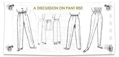Pattern Making: Pant Rise on Madalynne Sewing Blogs, Sewing Tutorials, Sewing Projects, Sewing Patterns, Sewing Tips, Lingerie Patterns, Sewing Alterations, Sewing Pants, Home Sew