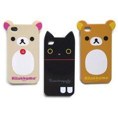 Rilakkuma iPhone 4 Case (Cute!) #fourcornerstore